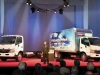 Hino Trucks unveiled its new cab-over-engine hybrids at the Work Truck Show in Indianapolis this past March. At HTUF 2011 in Baltimore the Toyota unit will announce pricing for its 155h and 195h diesel electric COEs -- allowing it to begin taking orders.