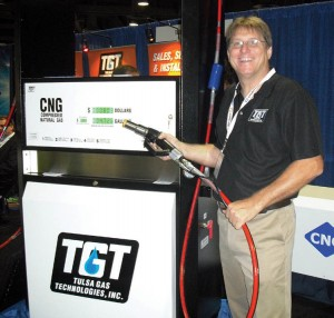 Tom Sewell, president of Tulsa Gas Technologies at ACT Expo 2012