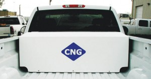 Tulsa Gas Technologies box for CNG cylinders