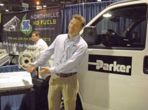 Jay Shultz of Parker Hannifin at ACT Expo 2012