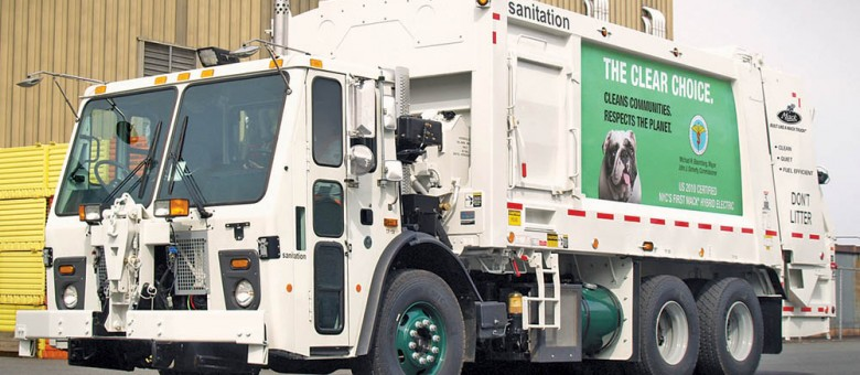 More Mack Hybrid Garbage Trucks for New York City