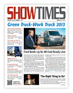 Cover of ShowTimes March 6, 2013 issue at the Green Truck Summit