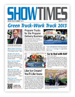 Cover of ShowTimes March 7, 2013 issue at the Green Truck Summit