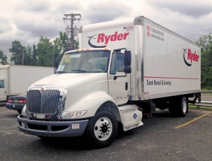 Ryder's new placement of 39 light and medium duty CNG vehicles in California includes 19 Navistar International TranStar trucks with Cummins Westport ISL G engines.