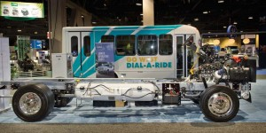 Propane autogas vehicles – and FCCC's MT-45 chassis – shown by PERC at Booth 911.