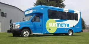 Fresno, Calif.-based A-1's 3,000th vehicle is a CNG shuttle bus for Sun Metro, converted at A-1's new facility in Elkhart, Ind.