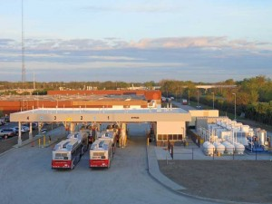 CNG fueling facility for the Central Ohio Transit Authority, by ANGI Energy Systems.