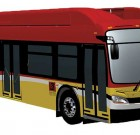 CNG New Flyer Artics for Long Beach Transit
